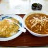 天津飯放浪記13  味噌ラーメンと天津飯のセット  来長苑