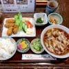 カキフライ定食(きしめん) 香流庵