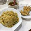 焼き餃子とカレー炒飯  嘉苑