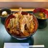 天丼の大盛  一社  天ぷら 舞扇