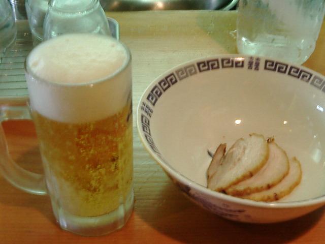 生ビール@らけいこ
