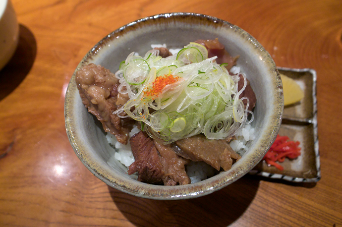 牛スジご飯