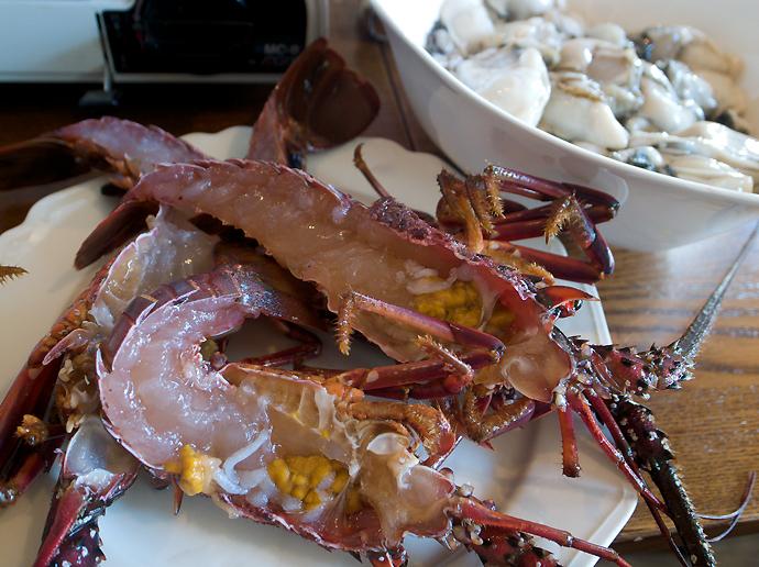 海老と牡蛎