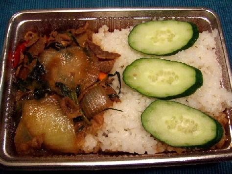 バジルご飯