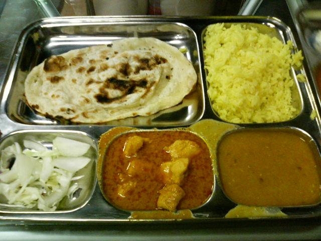 インド定食