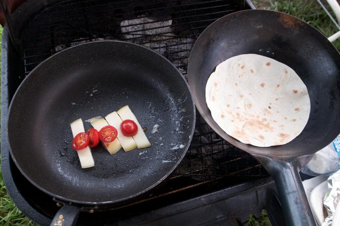 カチョカバロ焼き