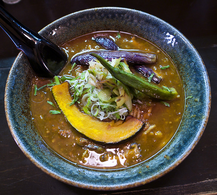 スパイシーカレー麺