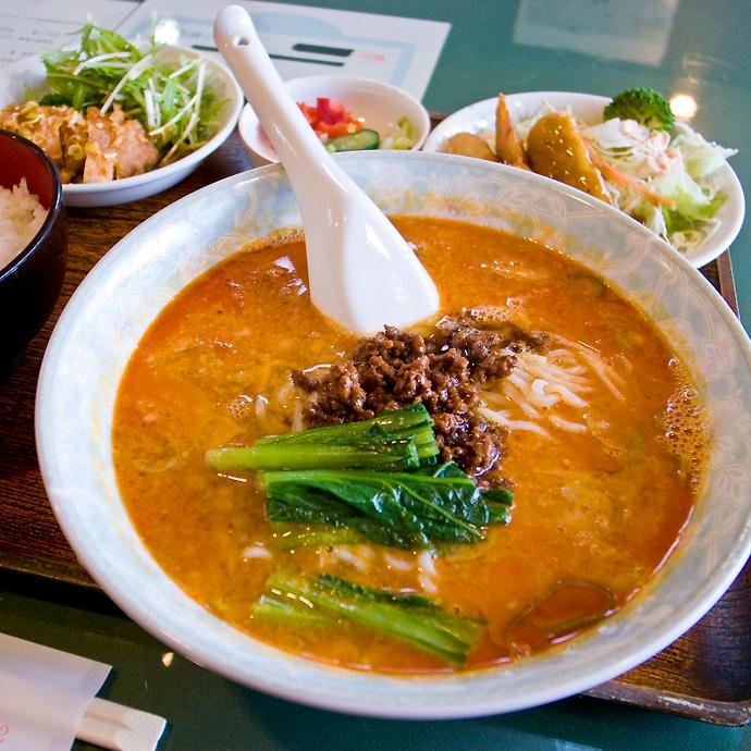 栄華麺定食1