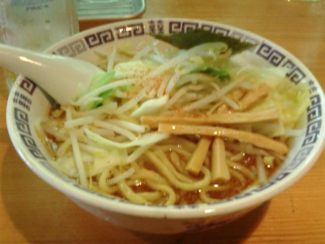 550円麺脂少な目@らけいこ