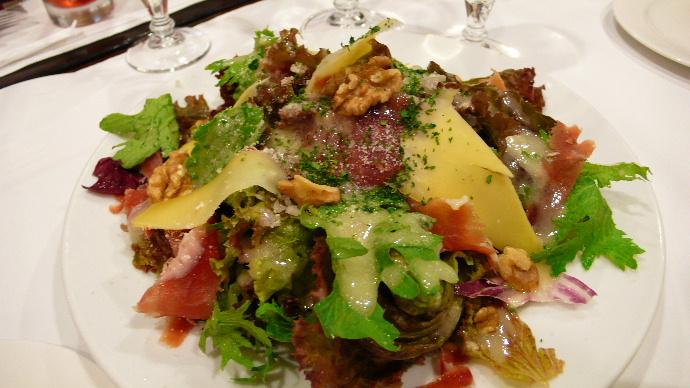 サヴォア風胡桃のサラダ