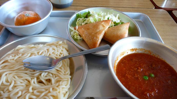 ソフト麺(ミートソース)2