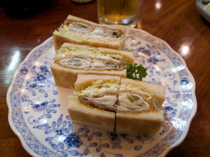 牡蛎サンド