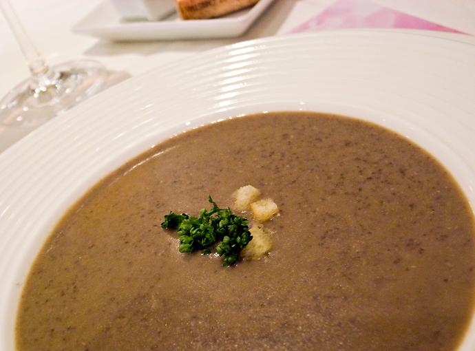 レンズマメのスープ