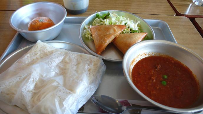 ソフト麺(ミートソース)1