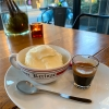 ミルクジェラートのアフォガート  プレストコーヒー